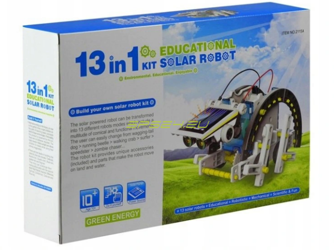 Solar robot 13in1 creative set education kit fun and science for kids